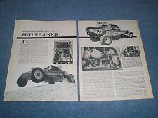 "1979 Class 1 Off-Road Desert Racing Vintage Article ""Future Shock"""