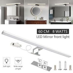 LED Spiegel-Leuchte Badlampe Schminklicht Bilder-Lampe 230V Schrank-Beleuchtung