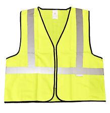 Yellow  Fluorescent Safety Vest,Light Weight Nylon Mesh,Closure