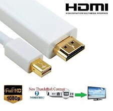 3M Mini Display Port DP Thunderbolt a HDMI TV Cable Adaptador Macbook Pro Imac