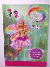 Barbie fairytopia magic of the rainbow sticker pad