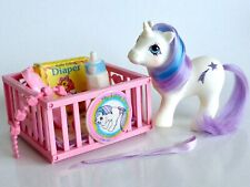my little pony g1* BABY GLORY NEAR COMPLETE/PUFFY STICKER *GORGEOUS!!