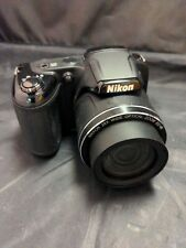 Nikon COOLPIX L340 20.2 MP Digital Camera - Black, not working