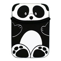 Black Panda Reversible Sleeve Case Cover Pouch for Amazon Kindle Touch E-Reader
