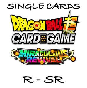 Dragon Ball Super Card Game - Miraculous Revival R, SR
