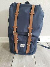 Herschel Supply Company Little America Mid-Volume Blue/Tan Backpack