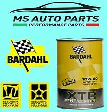 BARDAHL OLIO MOTORE AUTO XTR C60 RACING 10W60 TECHNOS EXCEED POLAR PLUS FULLRENE