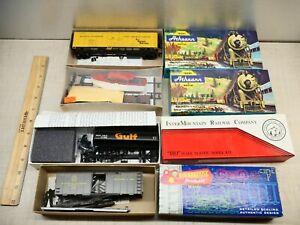 Lot of 4 HO 1353 GULF MOBILE 75003 w/BOAT 1633 refer Gulf tanker & B&O box car