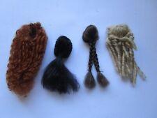 Heidi Ott doll wigs for adult 5.5 inch dollhouse dolls - custom for K Sadock