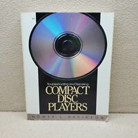 Troubleshooting and Repairing Compact Disc Players Davidson, Homer Paperback Us