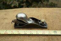 STANLEY No.18 Knuckle Joint Block Plane With Adjustable Throat Pat.-2-18-13 USA