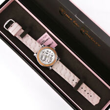 Juicy Couture Timepieces Royal Highness Swarovski Crystal Pink Jelly Band Watch