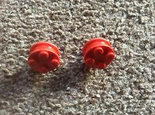 Lego 107, 2 X Wheels, In Very Good Condition