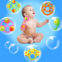 1PC Infant Baby Lovely Bell Rattles Toy Newborn Baby Hand Play Toys Gift BR