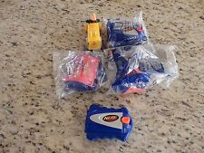 NERF McDonald's Toys disc launcher ball scoop Lot of 5