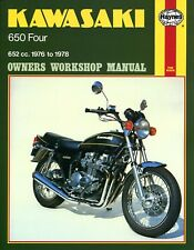 1976-1978 Kawasaki Z650 KZ650 Z KZ 650 HAYNES REPAIR MANUAL 373