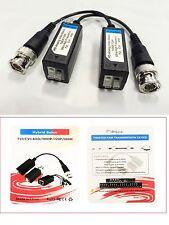 50 Pairs HD CCTV Via Twisted Video Balun Transmitter for CVI/TVI/AHD CCTV
