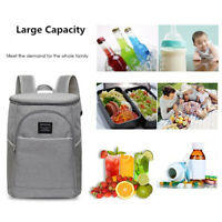 20L Insulated Waterproof Cooling Backpack Ice Cooler Camping Rucksack Bag