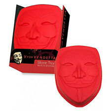 SD Toys V for Vendetta Mask Designed Silicone Cake Mould Tray High Quality