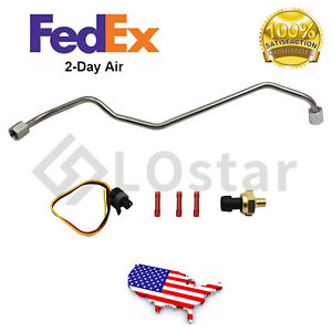 Exhaust Back Pressure EBP Tube Sensor + Wire For Ford 7.3L Powerstroke Diesel