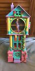 Vivid Imaginations 1990s Teeny Weeny Families Clock Play Set Light & Sound VGC