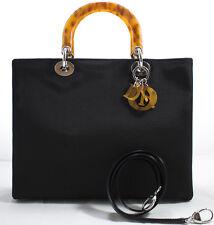 Lady Dior GM Christian Dior Handbag Handtasche Tasche Rare Rosshaar mit RIEMEN