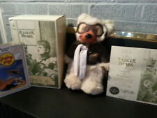 "12"" Robert Raikes Bear ""Lindy Jr."" Ceft. of Autheniticity, Numbered."