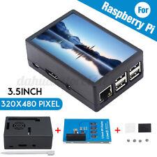 "3.5"" inch TFT Touch Screen LCD Display Case For Raspberry Pi A B A+ 2B 3B 3B+ W"