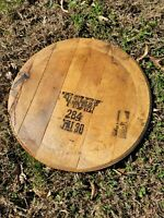 Maker's Mark Barrel Head Authentic Finished & Ready to Hang Bourbon Lid