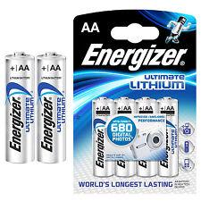 8 x Energizer AA ULTIMATE LITHIUM BATTERIEN - LR06 - LR6 3000 mAh - MIGNON