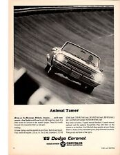 1965 DODGE CORONET / OPTIONAL 426 WEDGE  ~  CLASSIC ORIGINAL MUSCLE CAR AD