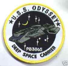 Stargate Atlantis Ecusson de L'U.S.S Odyssey vu serie USS Odyssey logo patch
