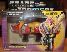 Transformers 1986 Takara G1 Decepticon Headstrong Combiner to Predaking MISB