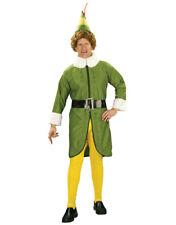 "Men's Buddy the Elf Costume Std Chest 44"" Waist 30-34"" Leg 33"""