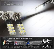 LED SMD H3 453 Xenon White Strobe Flashing Fog DRL Daytime Running Lights Bulbs