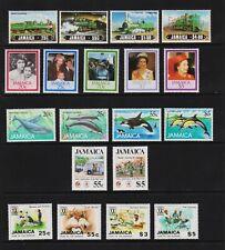 Jamaica - 5 Mint commemorative sets, cat. $ 33.30