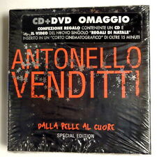 ANTONELLO VENDITTI  -  DALLA PELLE AL CUORE -  SPECIAL EDITION -  CD + DVD NUOVO