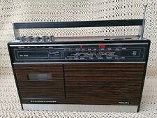 PHILIPS RR 332 Radiorecorder Transistorradio  Vintage 70ziger Made in Holland