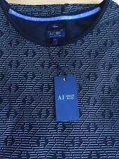 Armani Jeans T-Shirt Black Slim Fit XXL