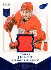 2013-14 (RED WINGS) Dominion Jerseys #DTJU Tomas Jurco/99