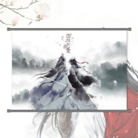 Grandmaster of Demonic Cultivation Wall Scroll Poster Art Home Decor 40*55cm#N-2
