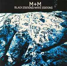 """MARTHA AND THE MUFFINS (M+M) - lack Stations/White Stations (12"""") (EX/VG+)"""