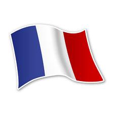 Frankreich Flagge France Autoaufkleber Sticker Fahne Aufkleber DRU 0065