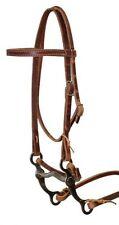 WESTERN SADDLE PONY SIZE HORSE COMPLETE BRIDLE HEADSTALL W/ SPLIT REINS MEDIUM