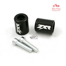 1 Pair Fit For Kawasaki ZXR ZX-R Logo Hand Grip Handlebar End Caps Cover