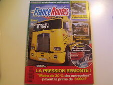 *** France Routes n°182 Kenworth K 100 E  Moteur Caterpillar  Route de Birmanie
