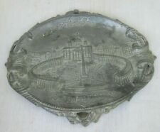 S Pietro Rocordo di Roma ST. PETER's PLACE VATICANO Vatican Pot Metal ashtray