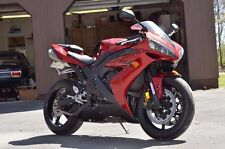 Candy Red w/ Matte Black Fairing Bodywork Injection for 2004-2006 Yamaha R1 2005