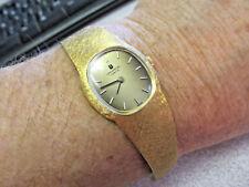 Mechanical Watch 100% 18k Gold Rare Woman's 18k Gold Universal Geneve