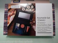 TCM Tchibo Kosmetik Set Make up Lidschatten Mascara Lipgloss Rouge Pinsel